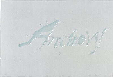 Ed Ruscha, 'Anchovy', 1969