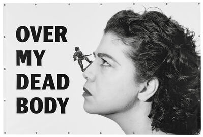 Mona Hatoum, 'Over My Dead Body', 1988-2002