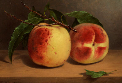 William Rickarby Miller, 'Study of Peaches from Nature', 1863
