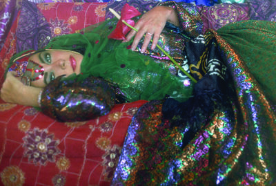 Firooz Zahedi, 'Elizabeth Taylor Dressed as an Odalisque I', 2011