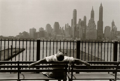 Louis Stettner, 'Brooklyn Promenade', 1954