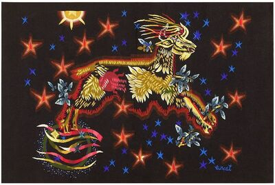 Jean Lurçat, 'Vintage Tapestry', Mid 20th Century