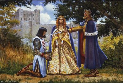 Don Maitz, 'Arthur Knights Lancelot', 1996