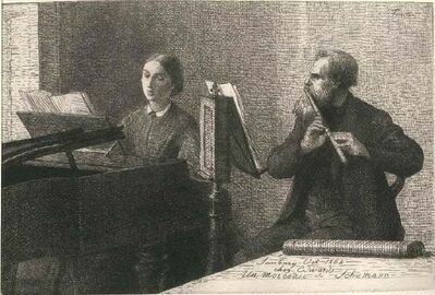 Henri Fantin-Latour, 'Un Morceau de Schumann', 1964