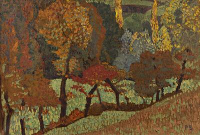 Paul Sérusier, 'Arbres le long du ruisseau', 1912
