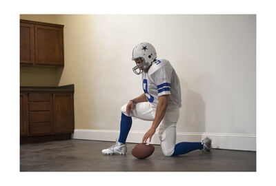 Pierre Joseph, 'Football Player, Dallas Cowboy (Character to Be Reactivated)', 2012