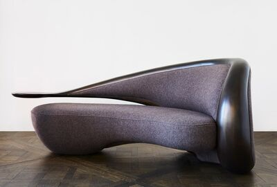 Vladimir Kagan, 'Annecy Sofa with Arm Left (Ebony Wood)', 2016