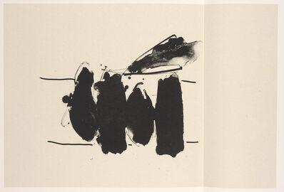 Robert Motherwell, 'Spanish Elegy', 1987