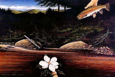 William Dunlap, 'Magnolia - Granda Floria ', 2000