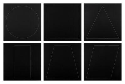 Sol LeWitt, 'Six Geometric Figures', 1977