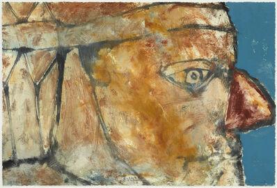 Hughie O'Donoghue, 'Stone Face VI', 2011