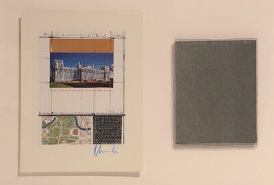 Christo and Jeanne-Claude, 'Project for Wrapped Reichstag', 1994