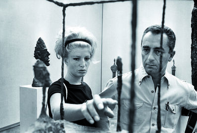 Michelangelo Antonioni, 'Monica Vitti and Michelangelo Antonioni at the Venice Biennale (La Biennale di Venezia) ', 1962