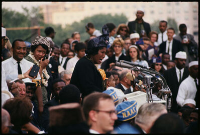 Gordon Parks, 'Untitled, Washington, D.C. (Mahalia Jackson Sings at the March on Washington)', 1963