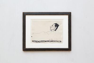 Ferdinand Hodler, 'Die kranke Valentine Godé-Darel', 1915