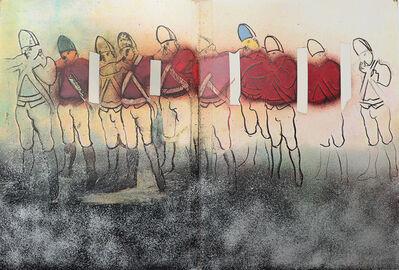 Larry Rivers, 'Redcoats - Mist', 1970