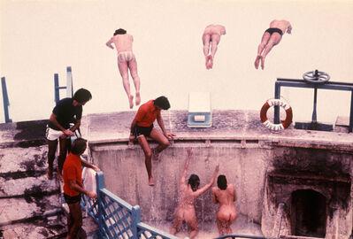 Jim Lee, 'Divers, Rome', 1976