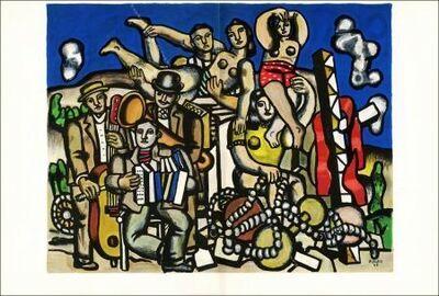 Fernand Léger, 'Acrobats & Musicians', Acrobats & Musicians