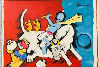 M. F. Husain, 'Krishna', 2003