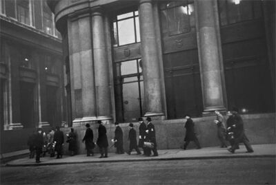 Robert Frank, 'City, London', 1951
