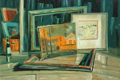 Frederick Hagan, 'Framed Kukagami Drawing, Other Stuff', 1982