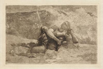 Winslow Homer, 'Study for Undertow', ca. 1886