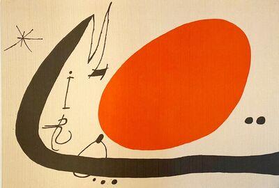 Joan Miró, 'Mà de Proverbis', 1970
