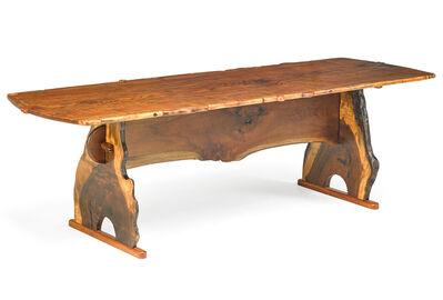 Tommy Simpson, 'Trestle dining table, Cooke's Credo, New Preston, CT', 2009