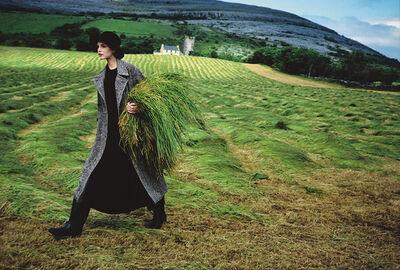 Arthur Elgort, 'Nadja Auermann, Ireland', 1993