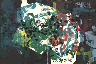 Jean-Paul Riopelle, 'Derriere le Miroir  Issue  Cover ONLY', 1968
