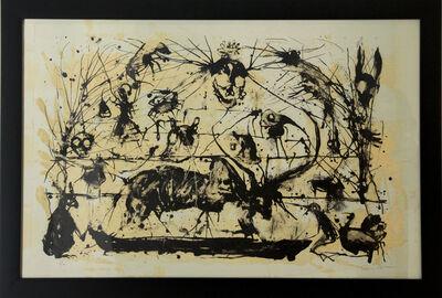 Guillermo Olguin, 'Toro y cuervos', 2018
