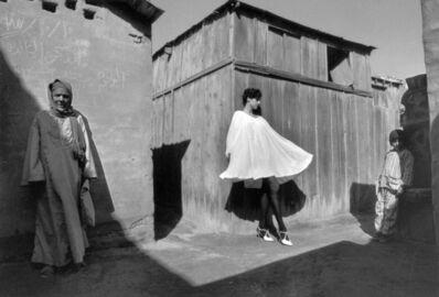 Ferdinando Scianna, 'EGYPT. Cairo. Fashion photograph with the model Gisele ZELAHUI.', 1989