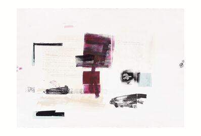 Rebeca Mendoza, 'Serie Cortazar, Monoprint T', 2015