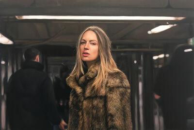 Yigal Ozeri, 'Untitled (Zuzanna); Subway Series', 2020
