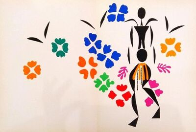 Henri Matisse, 'La Negresse', 1958
