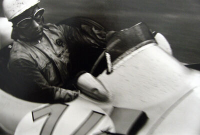 Jesse Alexander, 'Stirling Moss, Mercedes W196, Grand Prix of Belgium, Spa', 1955