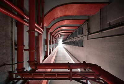 Romain Jacquet-Lagrèze, ''Vertical Horizon #86' Hong Kong', 2013