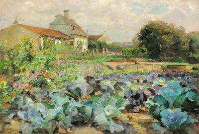 Marie Egner, 'Cottage Garden in the Wachau', 1900
