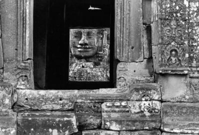 Marc Riboud, 'Bayon, terrasse superieure, 1990', 1990