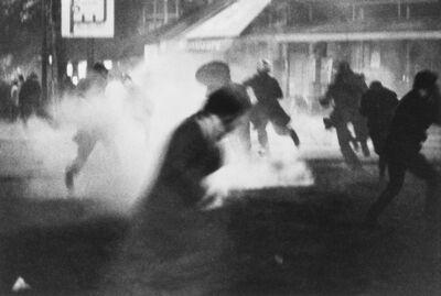 Bruno Barbey, 'Explosion of Teargas, Latin Quarter, Paris, France', 1968