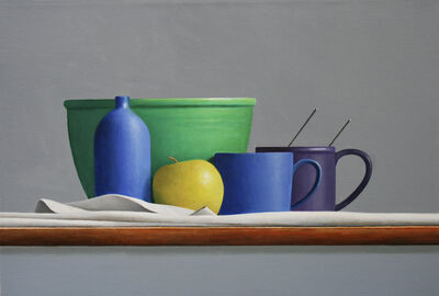 Janet Rickus, 'Still Life with Green Bowl', 2020