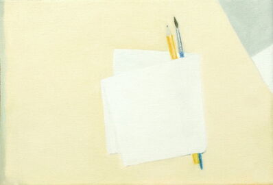 Jose Ángel Sintes, 'Llapis, pinzell i paper', 2019
