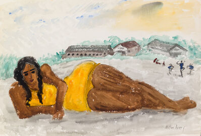 Milton Avery, 'Untitled (Yellow Swimsuit)', ca. 1930