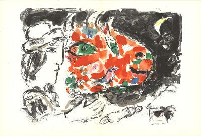 Marc Chagall, 'Derriere le Miroir, no.198, pg 14,15', 1972