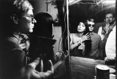 Dennis Hopper, 'The Factory (Andy in Mirror)', 1963