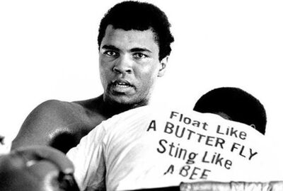 Chris Smith, 'Ali Float Like A Butterfly', 1971