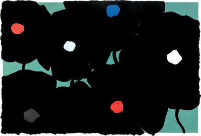 Donald Sultan, 'Black and Colors Sept 2 2006', 2006
