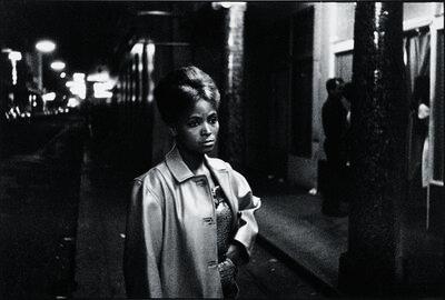Ricardo Rangel, 'Sad-eyed model in this street of merry-making', 1962