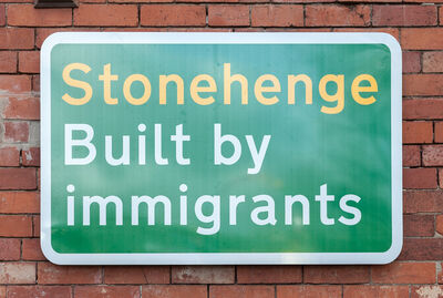 Jeremy Deller, 'Built by Immigrants', 2019