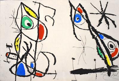 Joan Miró, 'Composition VI, from: The Grotesque Courtier | Le courtisan grotesque', 1974